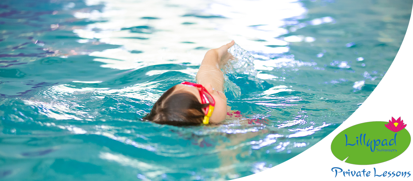 Private swimming lesson near Richmond