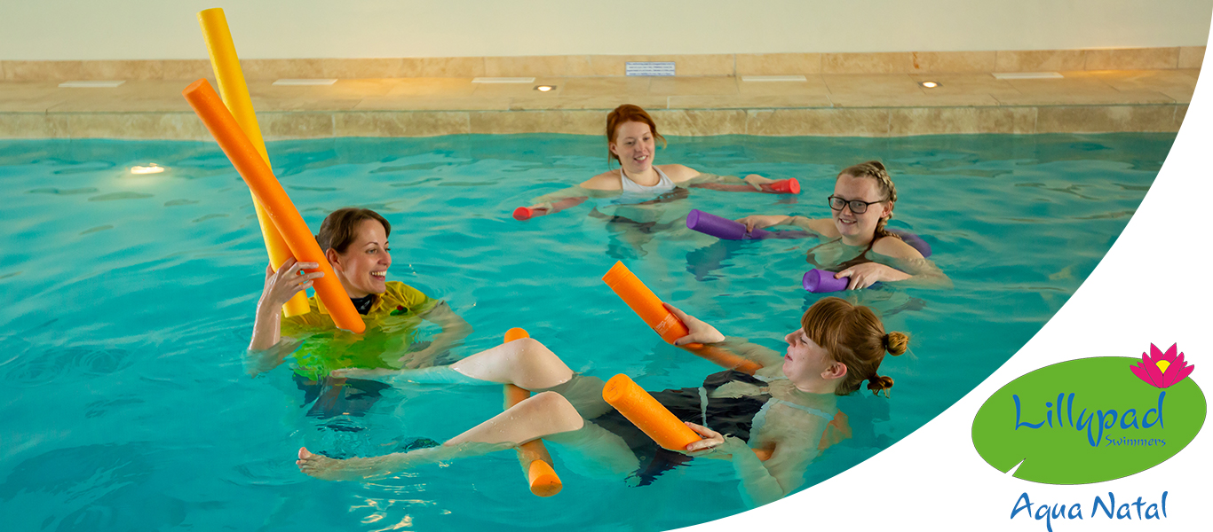 Fun Aqua sessions for expectant mothers