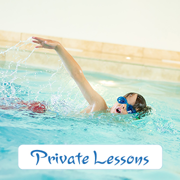 1 to 1 swimming lessons