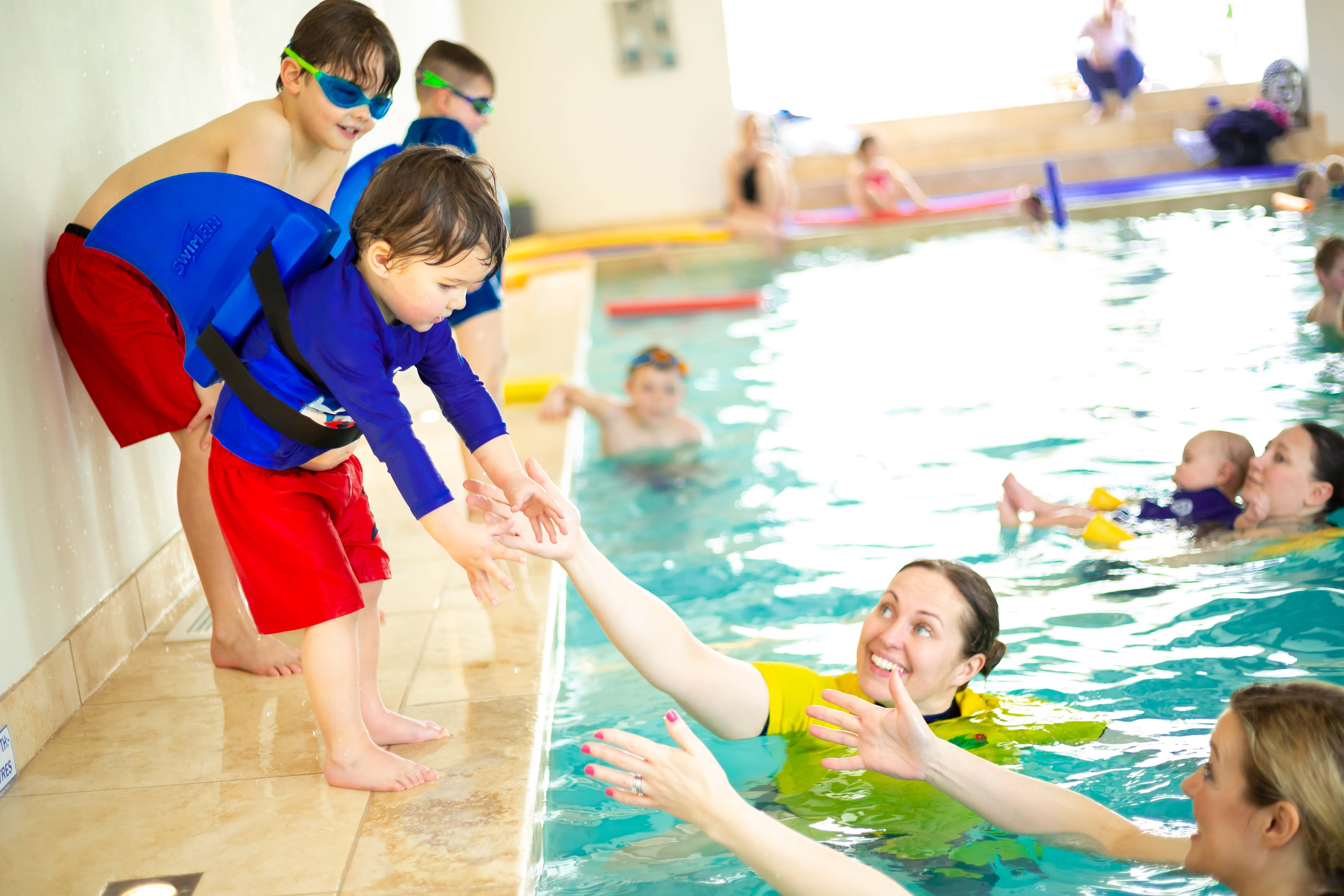 Group Swimming lessons near Darlington